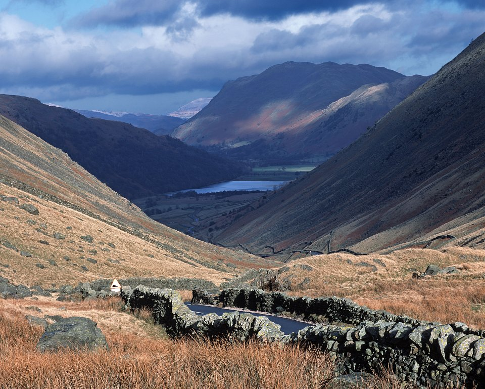 View down to Brotherswater