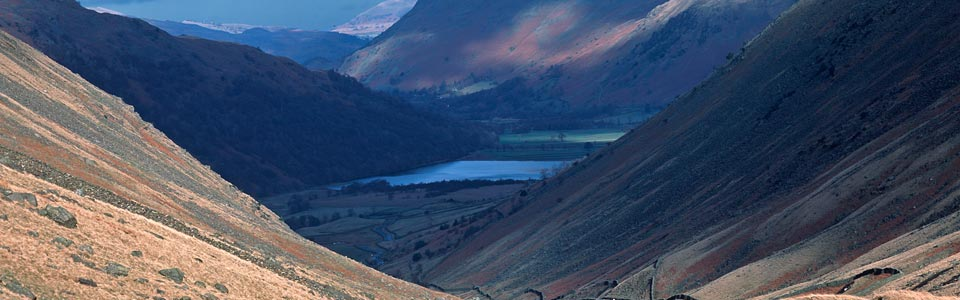View of Brotherswater in the Lake District