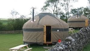 Luxury Yurts at Sykeside Camping Park